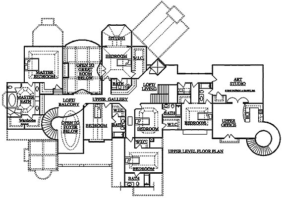 15 best custom floor plans custom house plans southwest for Custom home design plans